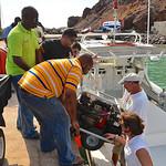 Helix mooring workshop, Saba (May 2013)